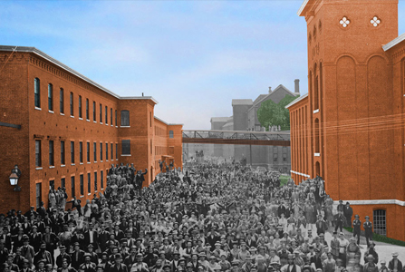 POLITICO Article Image on the Manchester Millyard