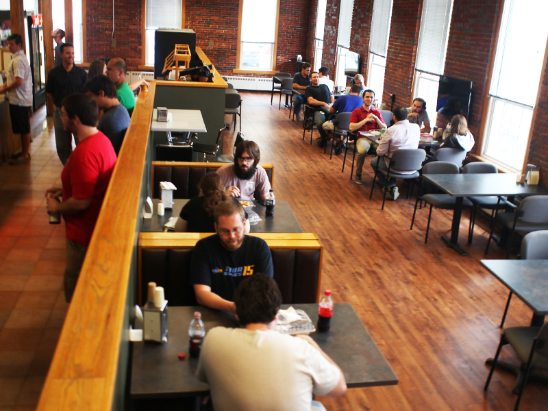 Networking and Lunch at the DEKA Cafe