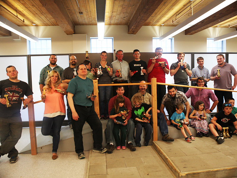 2015 Pinewood Derby Group Shot