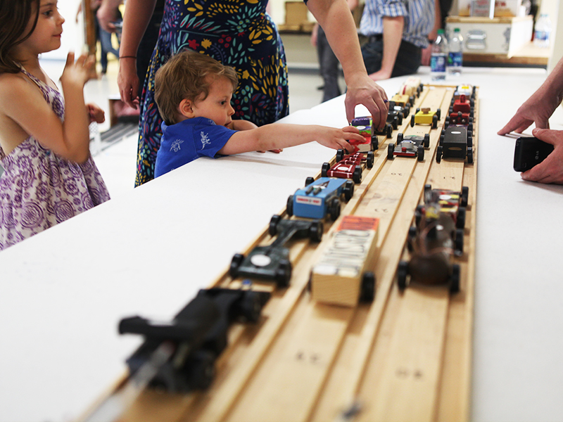 2015 Pinewood Derby Family