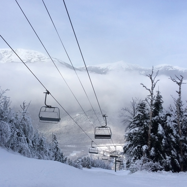Skiing and Snowboarding in the White Mountains